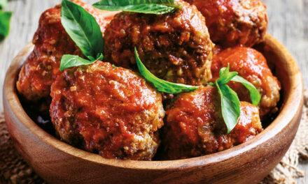 Italienische Fleischbällchen in Tomatensoße