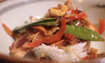 Thai Hähnchen mit Gemüse